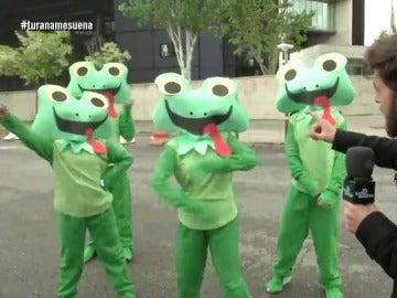 Las ranas de El Intermedio y Gonzo