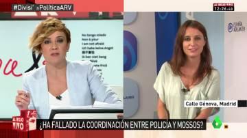 Andrea Levy responde en ARV