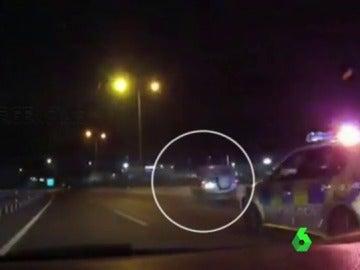 Espectacular persecución policial en Sevilla
