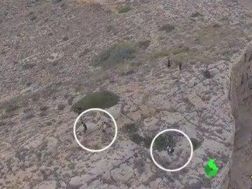 Un dron localiza a varias personas en Benidorm