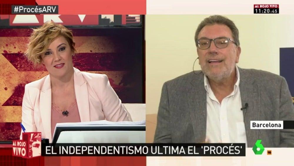 Josep Lluís Cleries, portavoz del PDeCAT