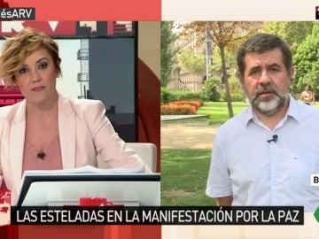 Jordi Sánchez, presidente de la Assemblea Nacional Catalana (ANC)