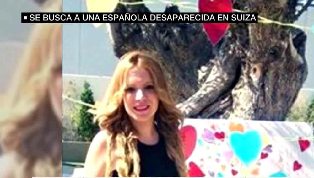 Lucía Cristo, joven alicantina desaparecida en Suiza