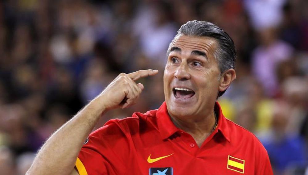 El seleccionador español, Sergio Scariolo