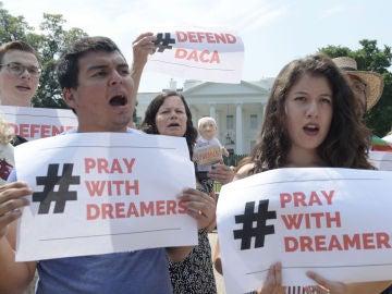 Dreamers se manifiestan en EEUU