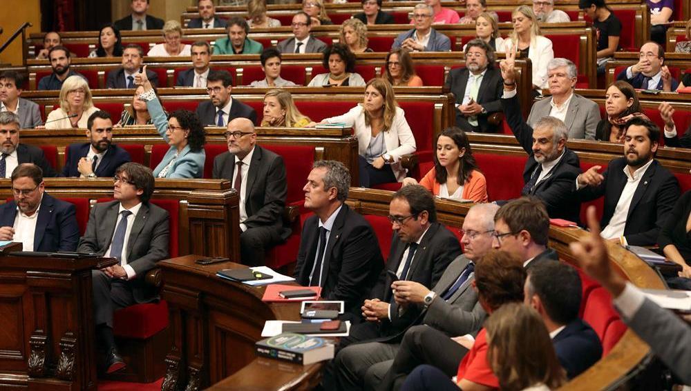 Imagen del Parlament de Cataluña