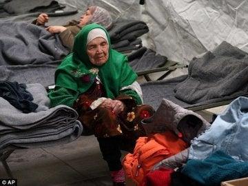 Bibihal Uzbeki, una refugiada de 106 años