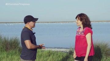 Raquel Piñeiro con Miguel Medialdea