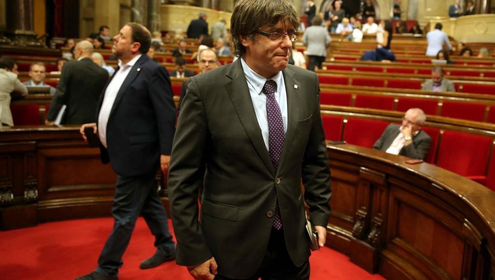 Resultado de imagen para Carles Puigdemont no hará caso al fallo del tribunal