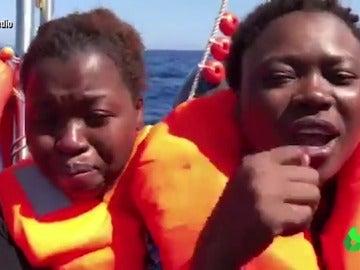 Refugiados en el Mediterráneo