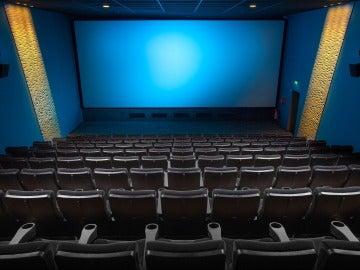 La imagen de archivo de un cine