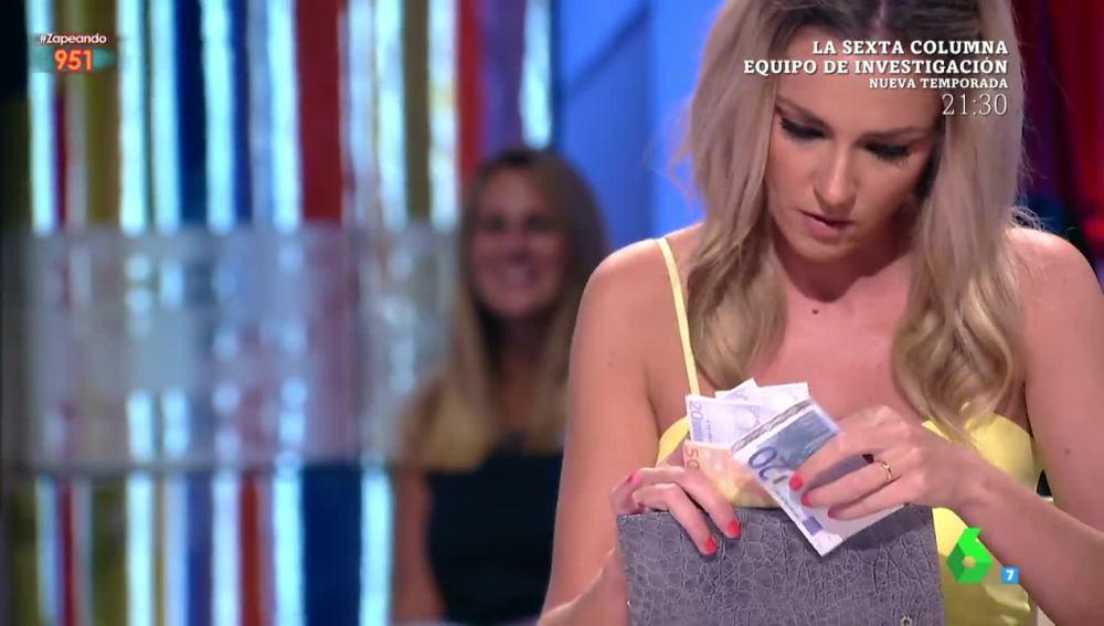 Anna Simon ha comenzado su búsqueda del billete de 20 euros premiado con 6.000