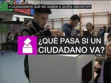Consecuencias en los ciudadanos en la participación de la mesa electoral del referéndum