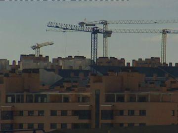 Bloques de viviendas en construcción