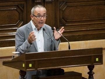 El portavoz de Catalunya SíQueEsPot, Joan Coscubiela