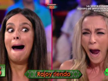 Cristina Pedroche y Anna Simon se meten en la piel de Mariano Rajoy