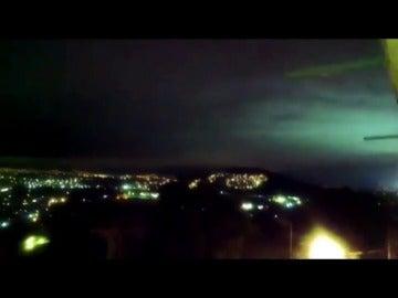 ¿Qué son las extrañas luces que aparecieron en el cielo de México tras el terremoto?