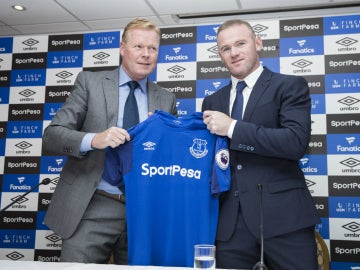 Koeman, con Rooney