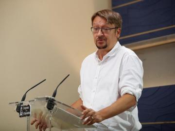 El líder de Catalunya en Comú, Xavier Domènech