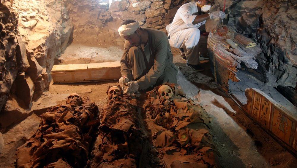 Hallada en Egipto la tumba de un orfebre del dios Amón