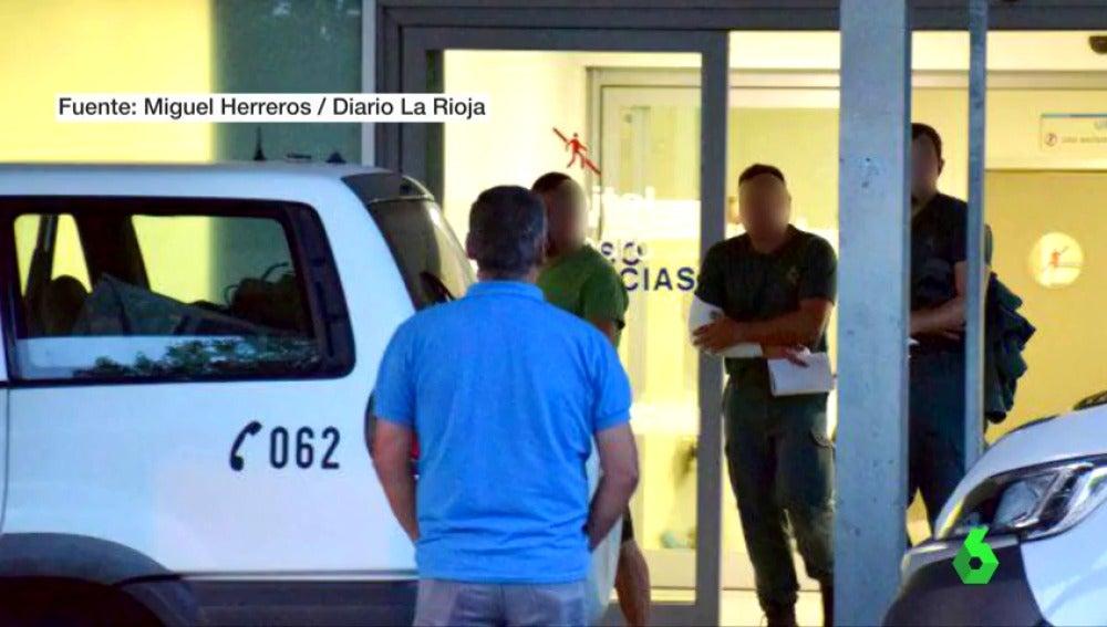 Heridos por arma de fuego 12 guardias civiles en unas prácticas de tiro en Logroño