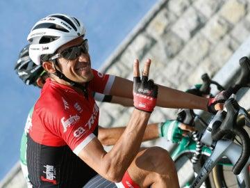 Alberto Contador, en la Vuelta