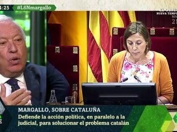 García Margallo, durante la entrevista