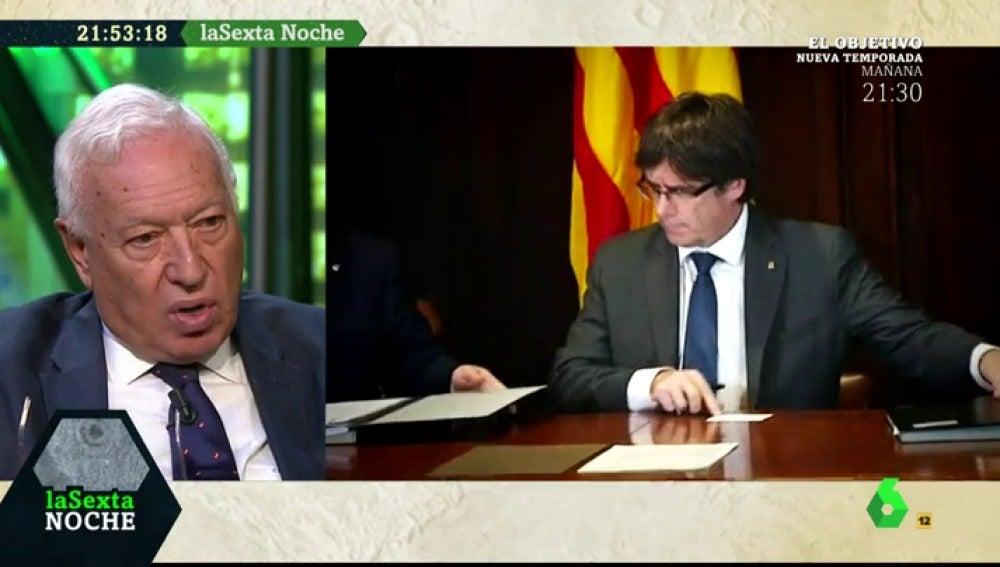 """Margallo: """"Una Constitución catalana fruto de una declaración unilateral de independencia les dejaría al margen del mundo"""""""