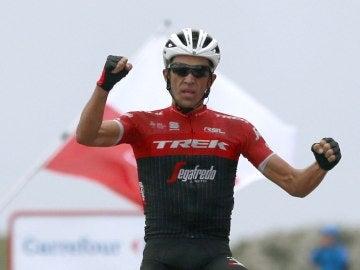 Contador, tras una victoria