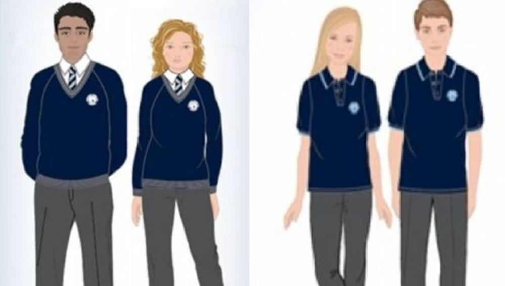 Uniforme neutro de colegio Priory