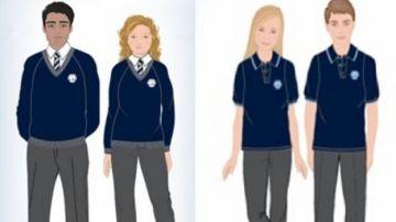 Uniforme neutro de colegio Priory
