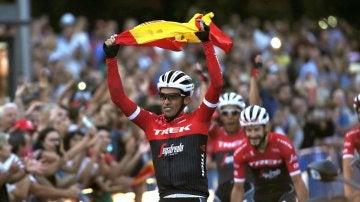 Contador en su última Vuelta