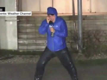 Reportero de la televisión estadounidense