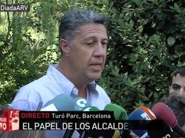 """Xavier García Albiol: """"La situación que vivimos en Cataluña es una situación de riesgo"""""""