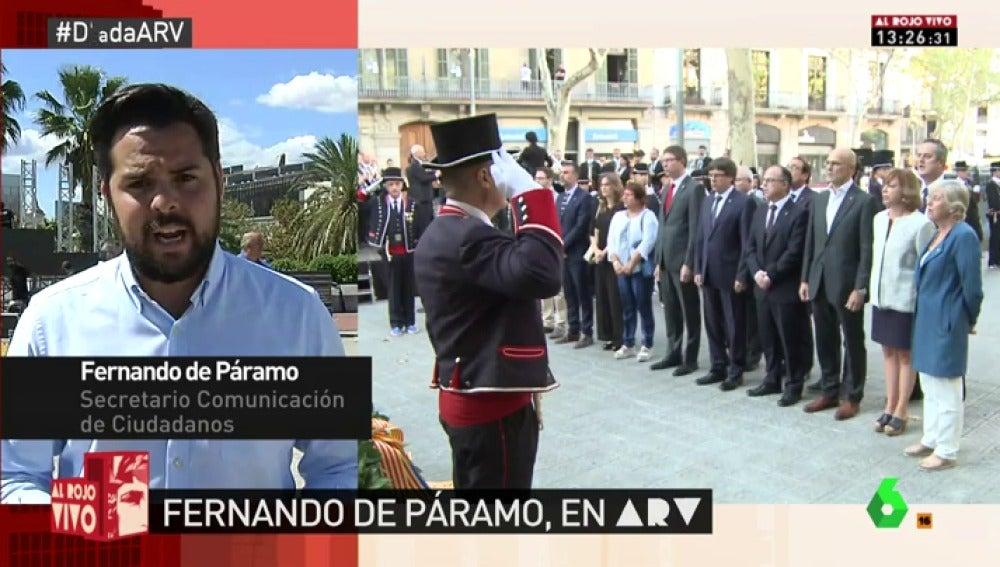 """Fernando de Páramo: """"Años y años de monotema para que te tengas que imprimir la papeleta en tu casa con plastidecores y tijeras"""""""