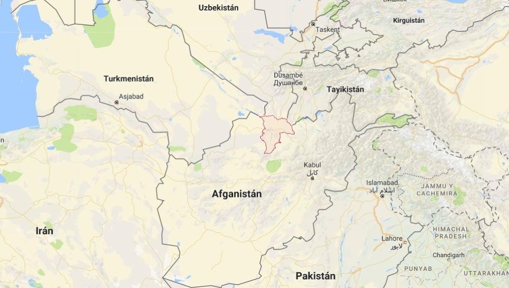 Provincia de Balj en Afganistán