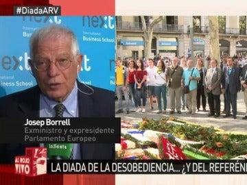 Borrell en Al Rojo Vivo