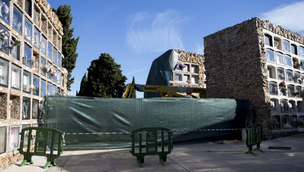 Imagen de archivo del cementerio de Montjuïc de Barcelona