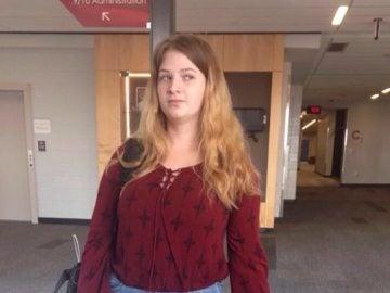Kelsey Paige, la joven que fue ridiculizada por su profesora por la vestimenta que llevaba