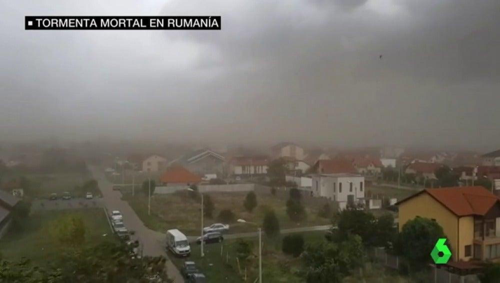tormenta rumania