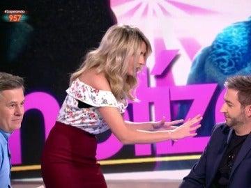 Anna Simon y Frank Blanco en Zapeando