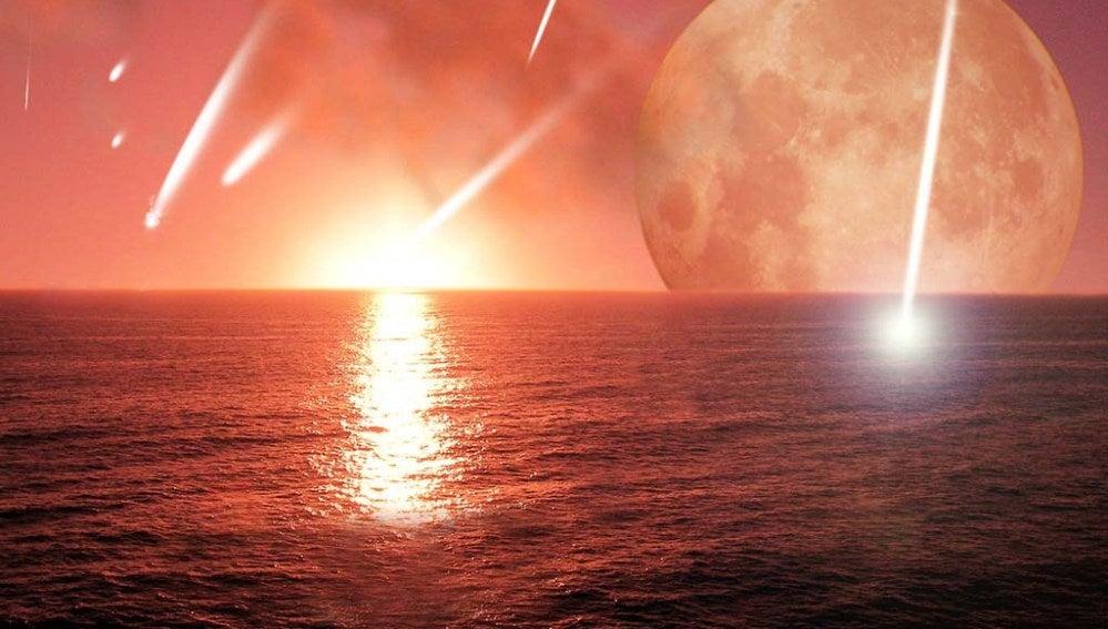 Posible aspecto de la Tierra primigenia