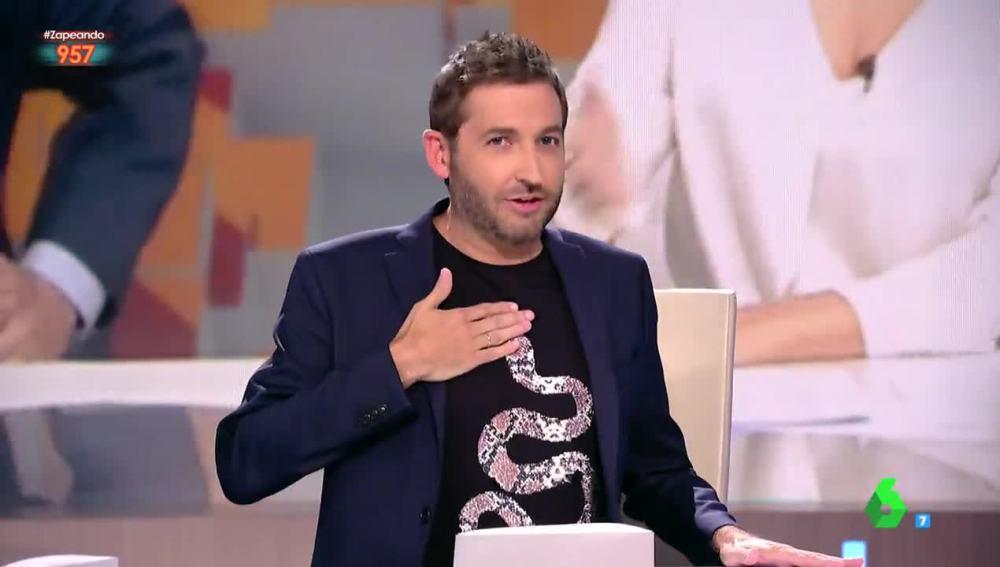 Frank Blanco y su camiseta de cobra