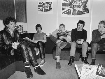 Los Sex Pistols, antes de un evento