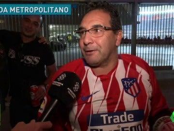 """La emoción de estrenar el Wanda Metropolitano: """"Tengo los pelos de punta"""""""