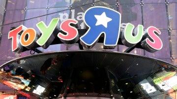 Una tienda de Toys 'R' Us en Times Sqaure, en Nueva York