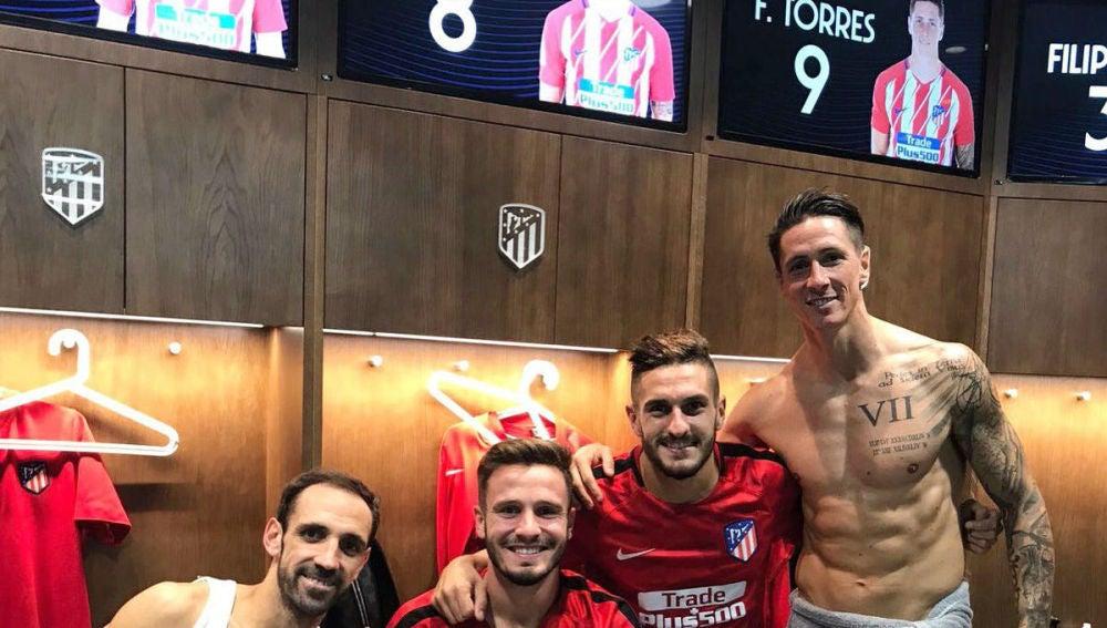 Fernando Torres en el Wanda
