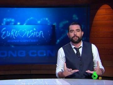 """Dani Mateo desvela la amenaza más grave que se cierne sobre Cataluña: """"Perderéis una oportunidad anual de ver a España hacer el ridículo en Eurovisión"""""""