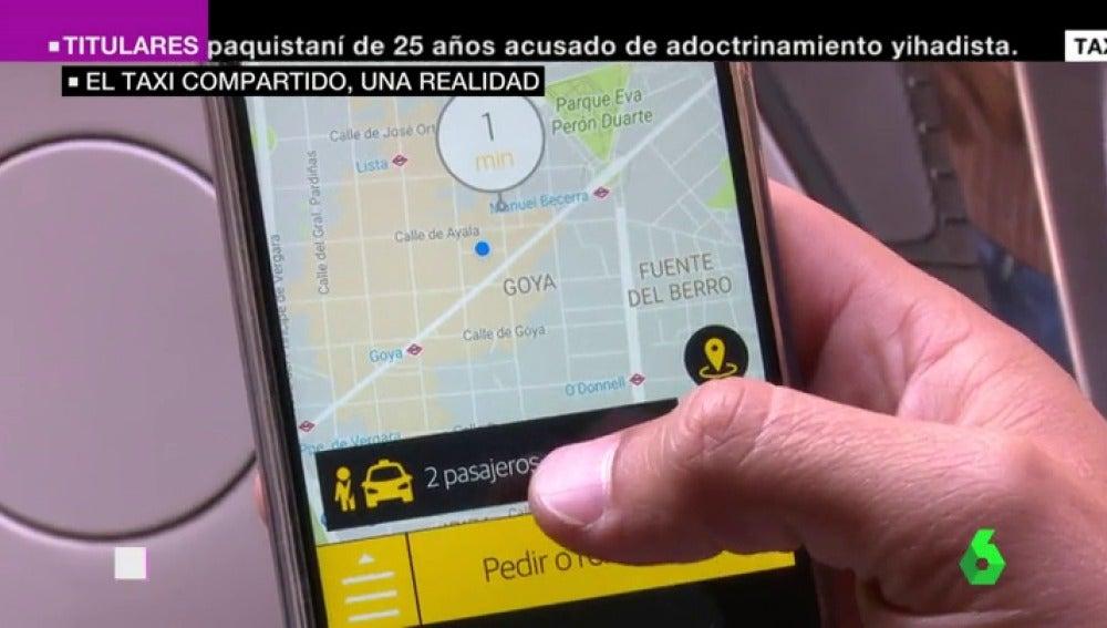 El taxi se moderniza: lanza una aplicación que permite compartir taxi para hacer frente a la competencia de Uber y Cabify