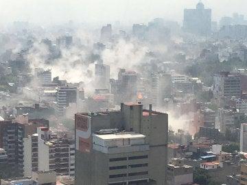 La situación en México tras el terremoto